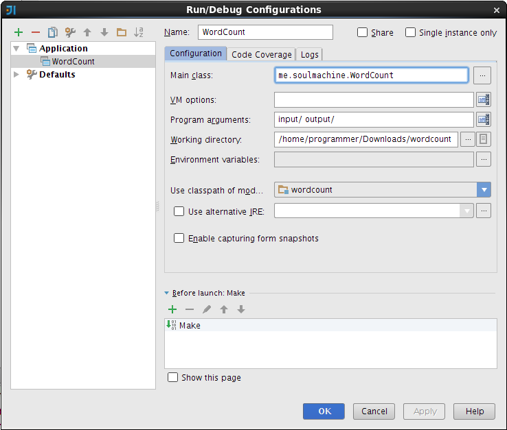 Debug Hadoop Applications With IntelliJ - soulmachine